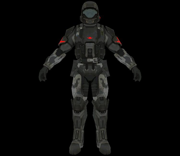 Xbox 360 - Halo 3 - Orbital Drop Shock Trooper - The Models