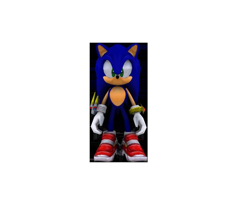 Gamecube Sonic Adventure 2 Battle Sonic The Models Resource