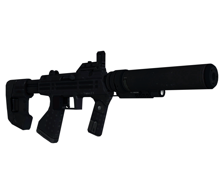Xbox 360 - Halo 3: ODST - Silenced SMG - The Models Resource