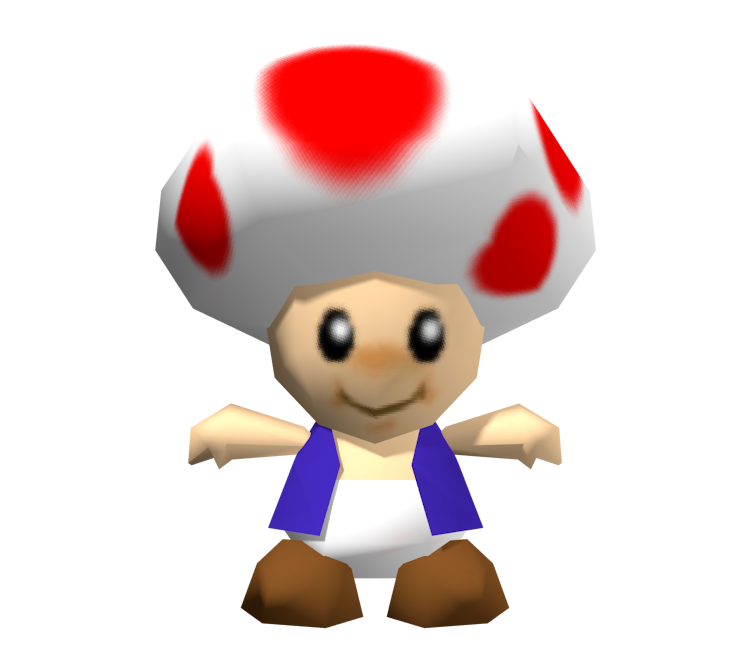 Nintendo 64 Super Mario 64 Toad The Models Resource