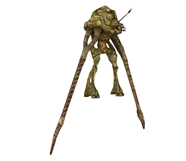 Xbox - Halo 2 - Flood Juggernaut - The Models Resource