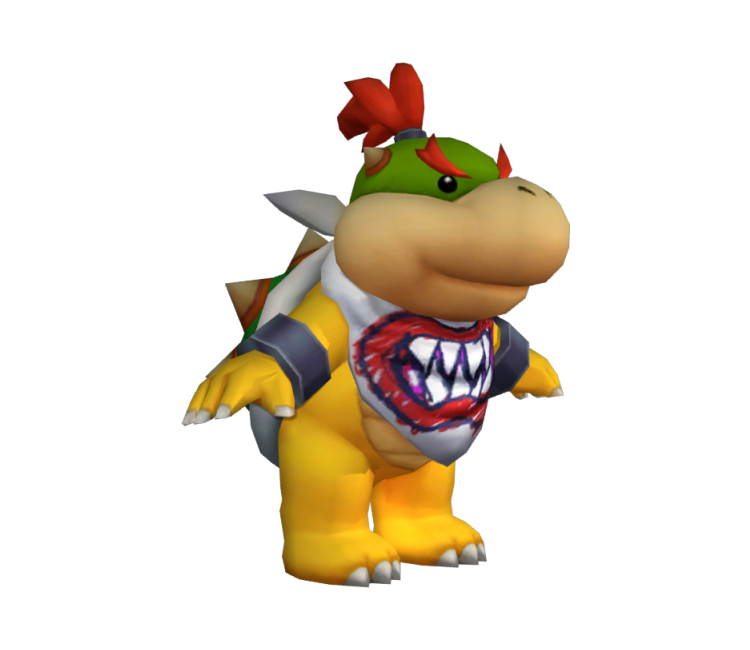 Wii Mario Sports Mix Bowser Jr The Models Resource