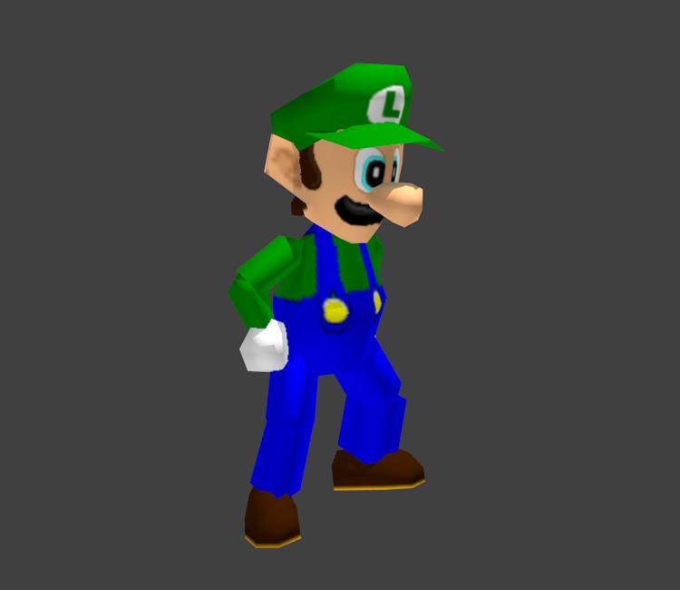 Nintendo 64 Mario Party Luigi The Models Resource