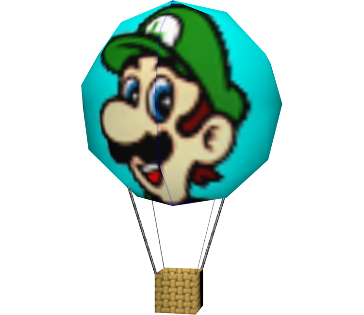 Nintendo 64 Mario Kart 64 Luigi Balloon The Models Resource