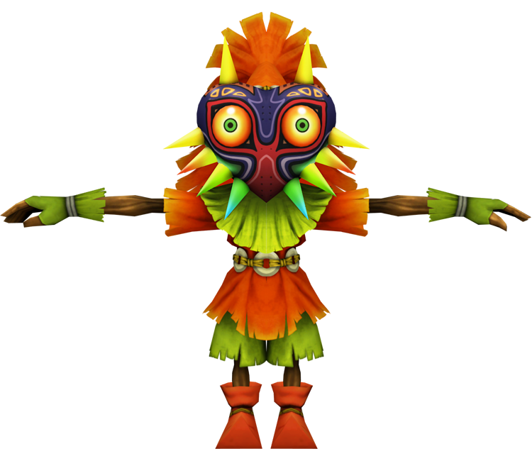Wii U - Super Smash Bros  for Wii U - Skull Kid - The Models