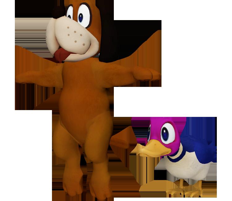 Wii U - Super Smash Bros. for Wii U - Duck Hunt - The Models Resource