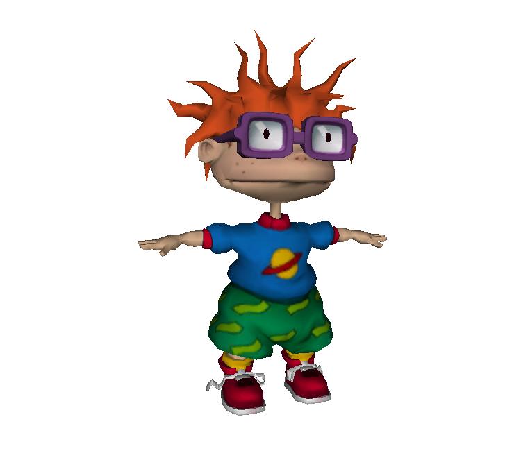 Gamecube Rugrats Royal Ransom Chuckie The Models
