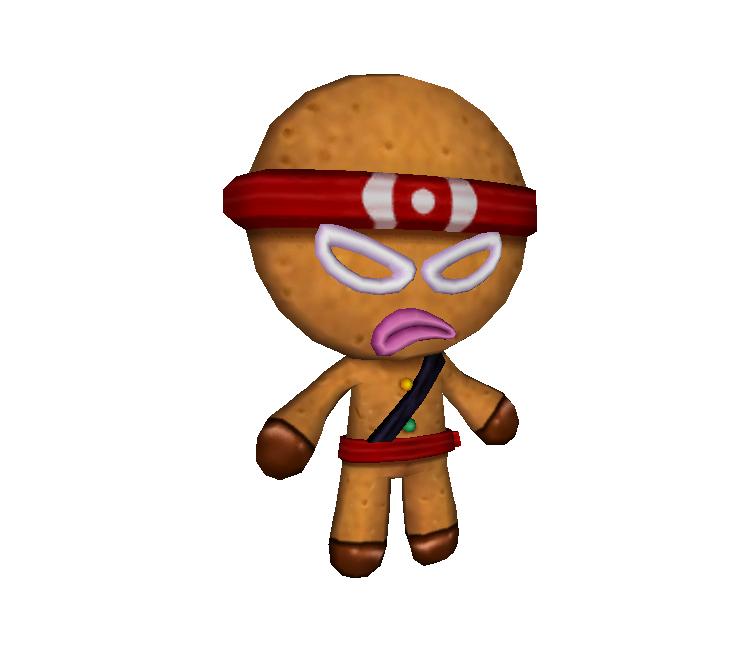 Wii Ninjabread Man Ninjabread Man The Models Resource