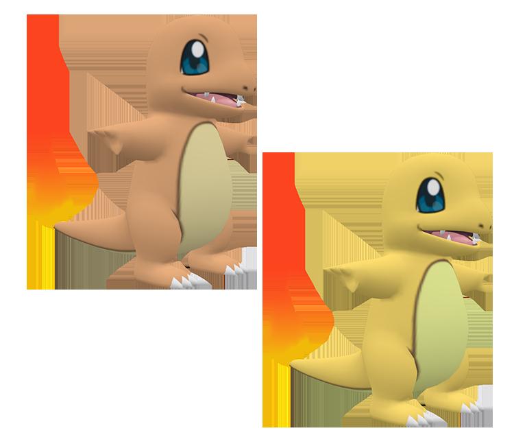 3DS - Pokémon X / Y - #004 Charmander - The Models Resource