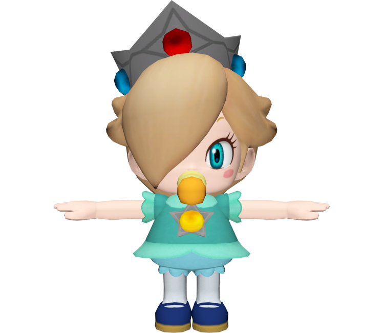 Wii U - Mario Kart 8 - Baby Rosalina - The Models Resource