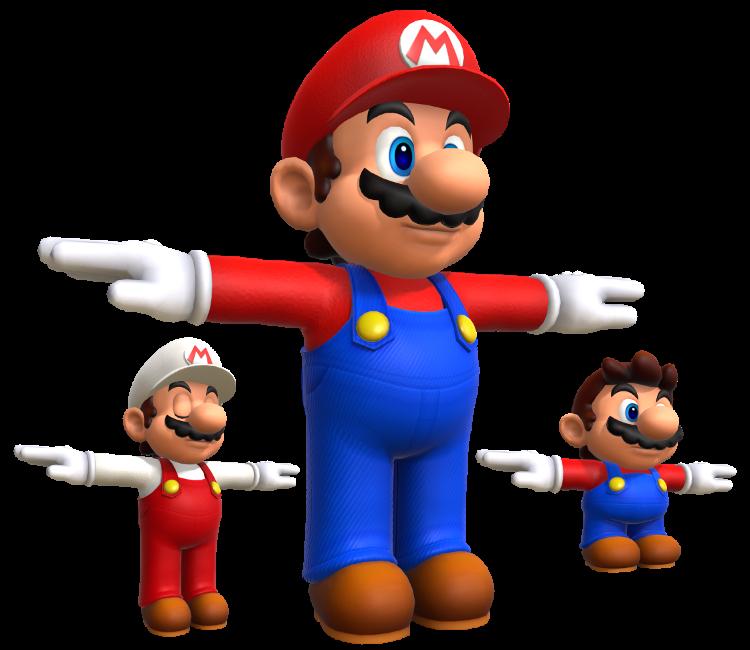 Wii U - Super Mario 3D World - Mario - The Models Resource