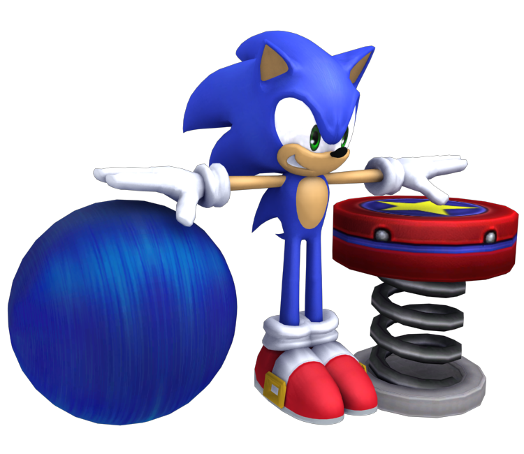 wii u super smash bros for wii u sonic the models resource
