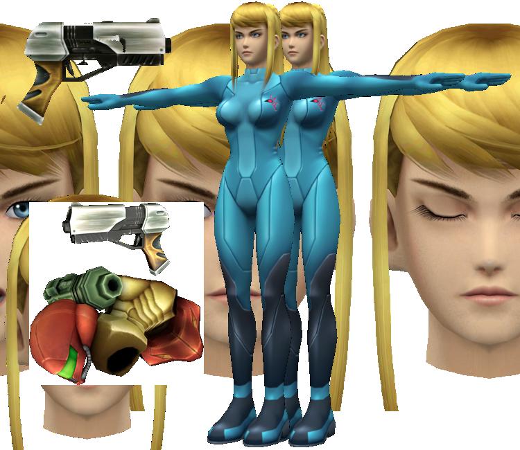Wii - Super Smash Bros. Brawl - Zero Suit Samus - The ...
