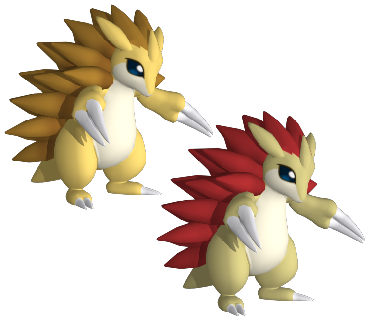 3ds pok mon x y 028 sandslash the models resource - Pokemon 3d download ...