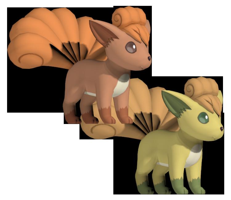 3DS - Pokémon X / Y - #037 Vulpix - The Models Resource