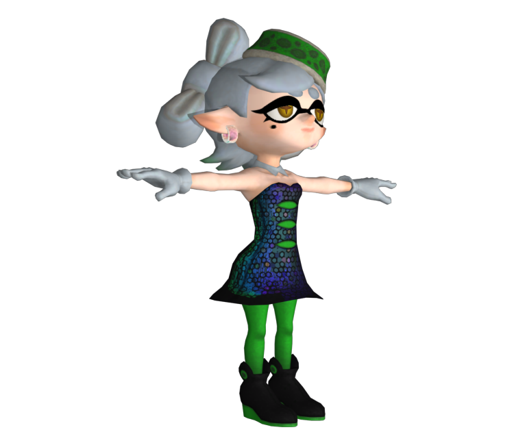 wii u splatoon marie the models resource