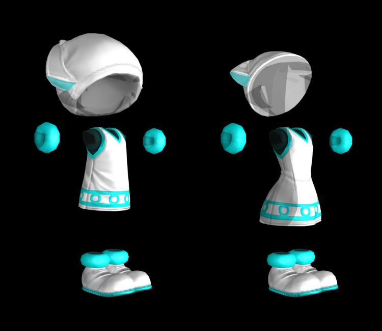 wii u splatoon the squid girl set the models resource. Black Bedroom Furniture Sets. Home Design Ideas