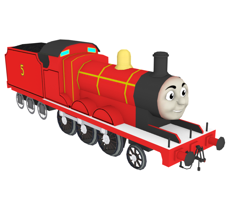 mobile thomas friends go go thomas james the red engine the models resource. Black Bedroom Furniture Sets. Home Design Ideas