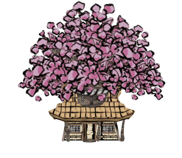 Wii Okami Mr Flowers House The Models Resource