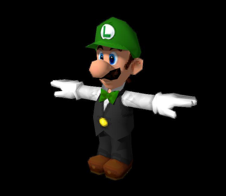 Ds Dsi Super Mario 64 Ds Luigi Dealer The Models