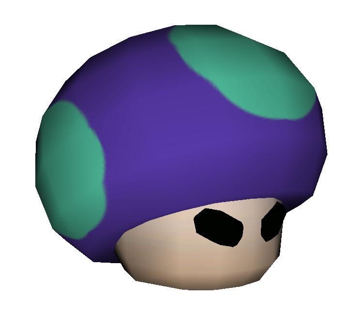 Gamecube Mario Party 5 Poison Mushroom Capsule The