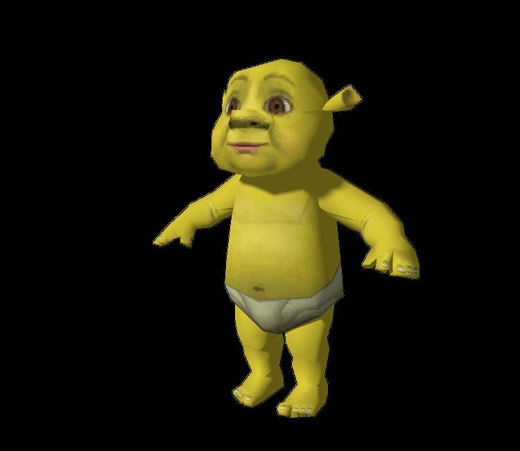 Shrek Face on Donkey Mask Template