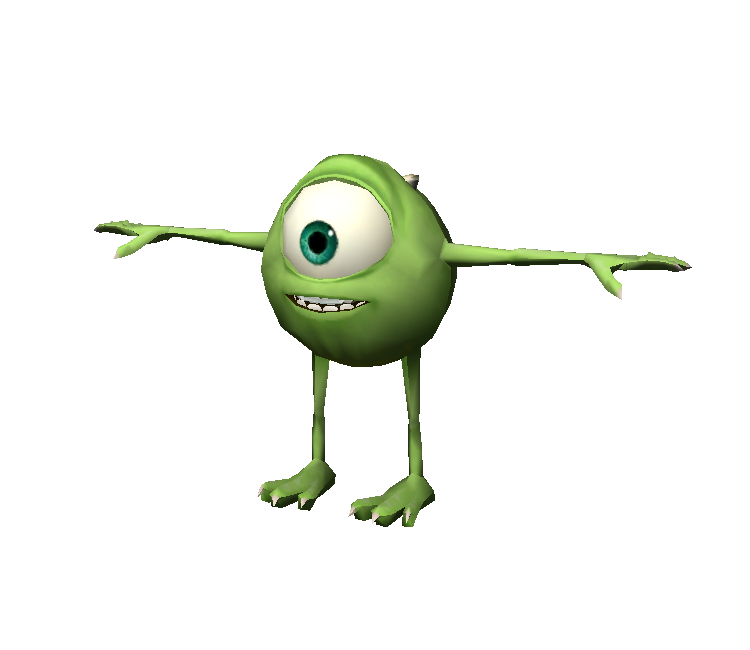 mobile monsters university mike wazowski the models resource