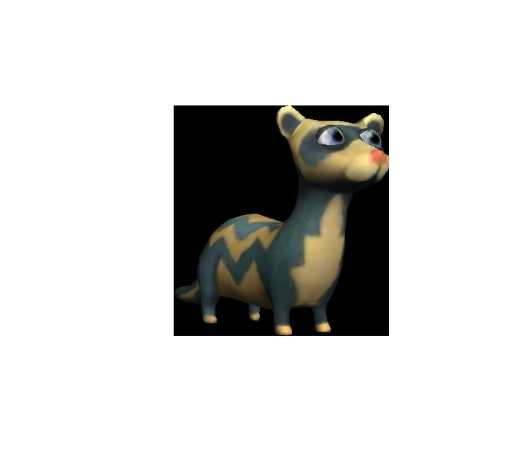 Mobile - Pet Rescue Saga - Ferret - The Models Resource