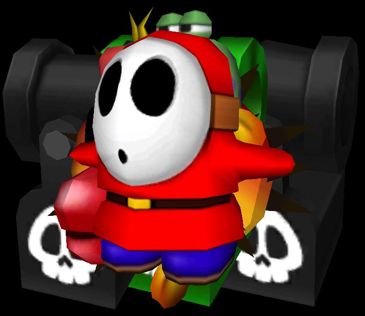 3DS - Yoshi's New Island - Mega Shy Guy - The Models Resource