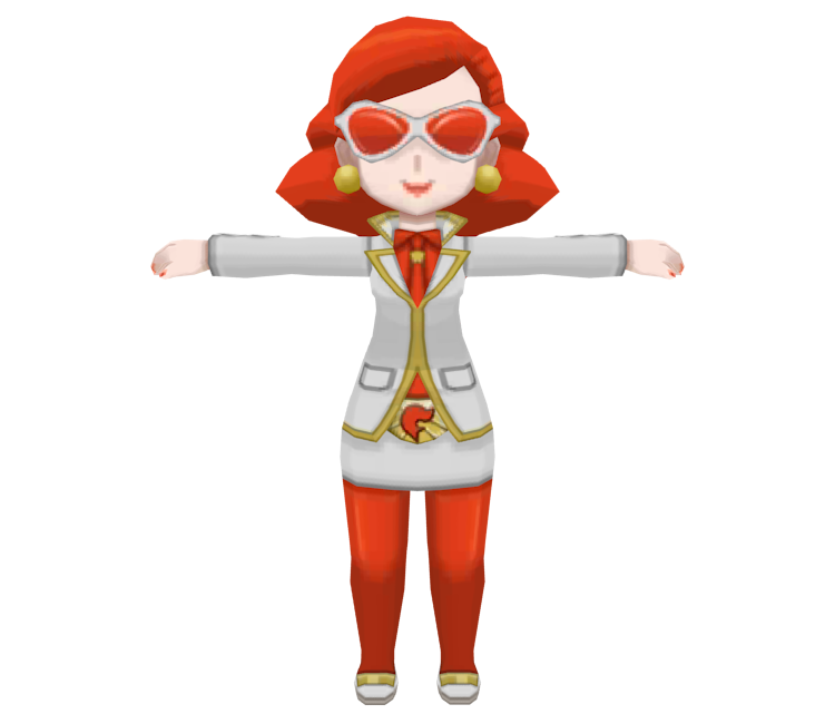 3ds pok233mon x y team flare admin female the