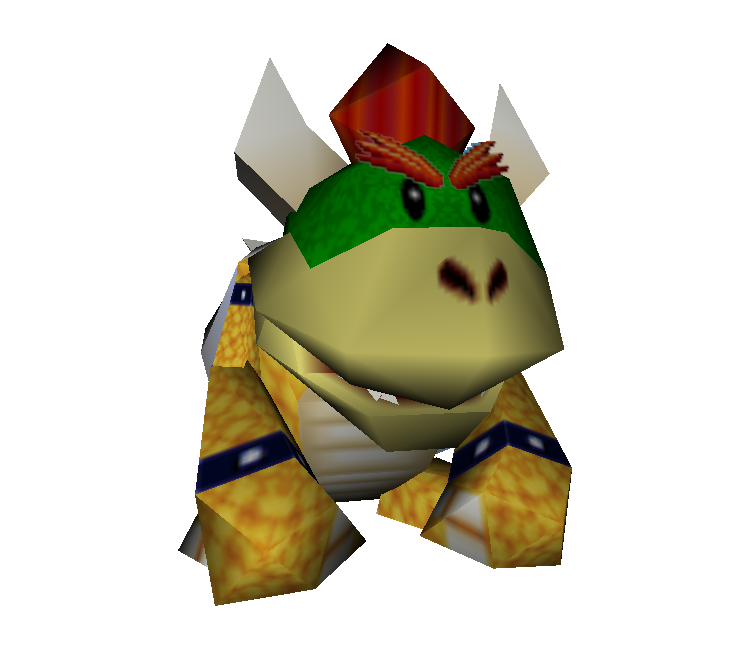 Nintendo 64 Mario Party Baby Bowser Koopa Kid The