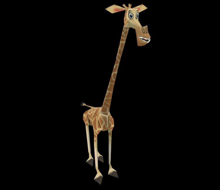 Ds Dsi Madagascar Escape 2 Africa Melman The Models Resource