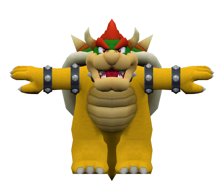 Gamecube Mario Party 4 Bowser The Models Resource