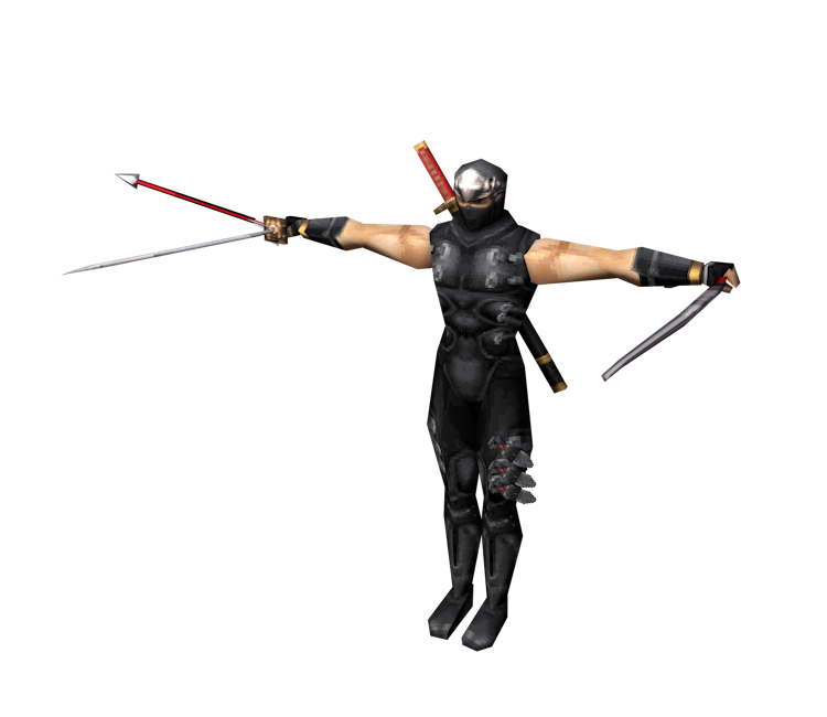 Ds Dsi Ninja Gaiden Dragon Sword Ryu Hayabusa The Models