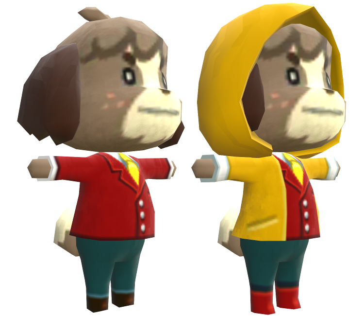 3DS - Animal Crossing: New Leaf - Digby - The Models Resource
