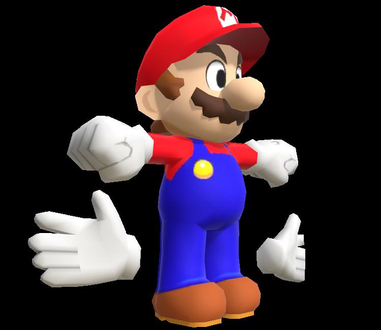 3ds Mario Luigi Dream Team Mario The Models Resource