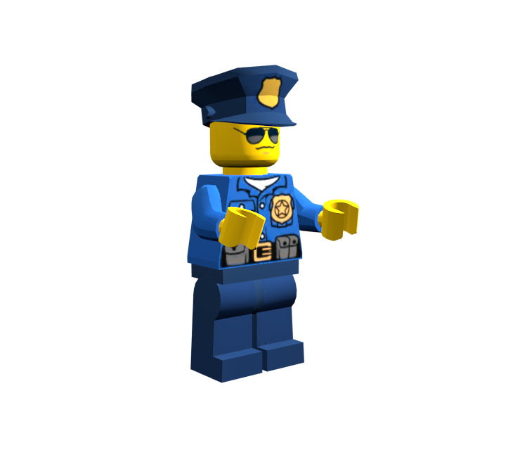 Mobile - LEGO City: My City - Policeman - The Models Resource