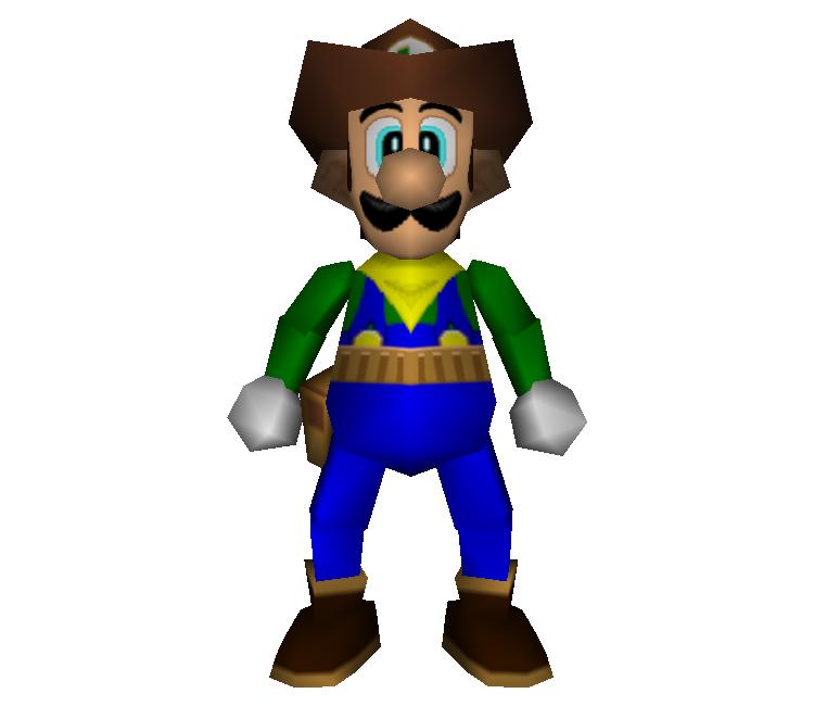 Nintendo 64 Mario Party 2 Luigi Western Land The