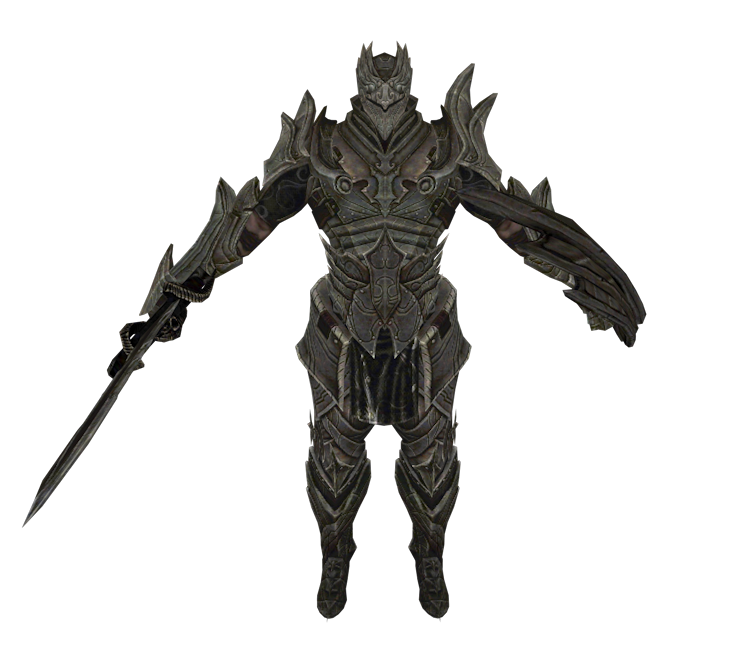 Mobile - Infinity Blade - The Dark Knight - The Models Resource