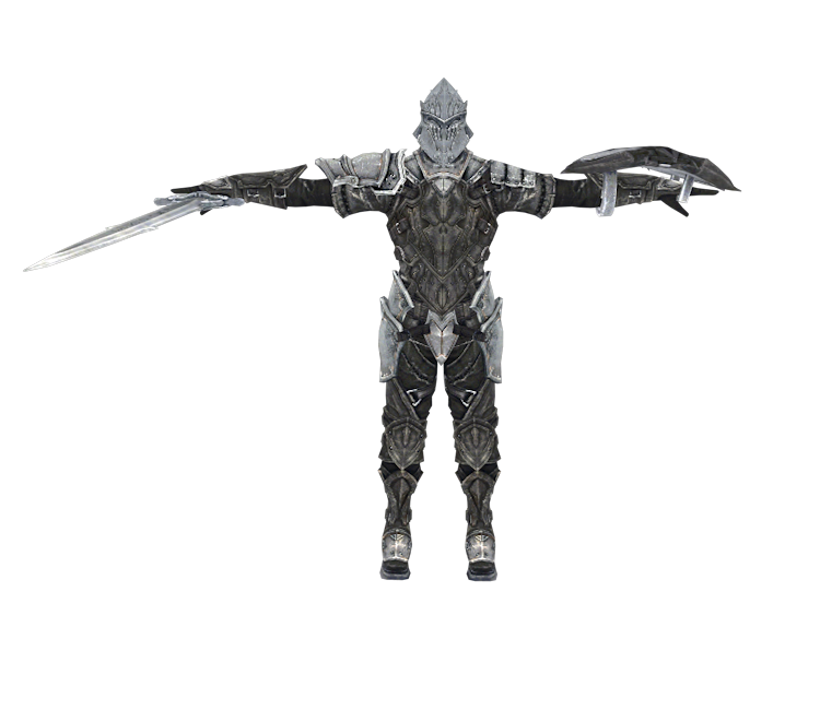 Mobile - Infinity Blade - Knight Templar - The Models Resource