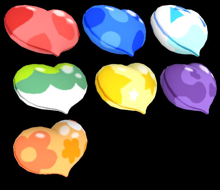 3DS - Pokémon Sun / Moon - Patterned Poké Beans - The Models Resource