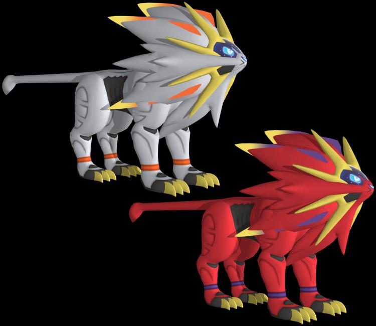 3ds Pokémon Sun Moon 791 Solgaleo The Models Resource
