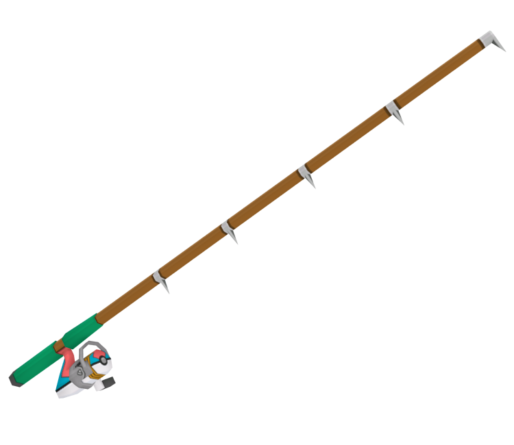 3ds pok mon sun moon fishing rod the models resource