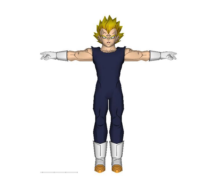 GameCube - Dragon Ball Z: Budokai 2 - Majin Vegeta - The