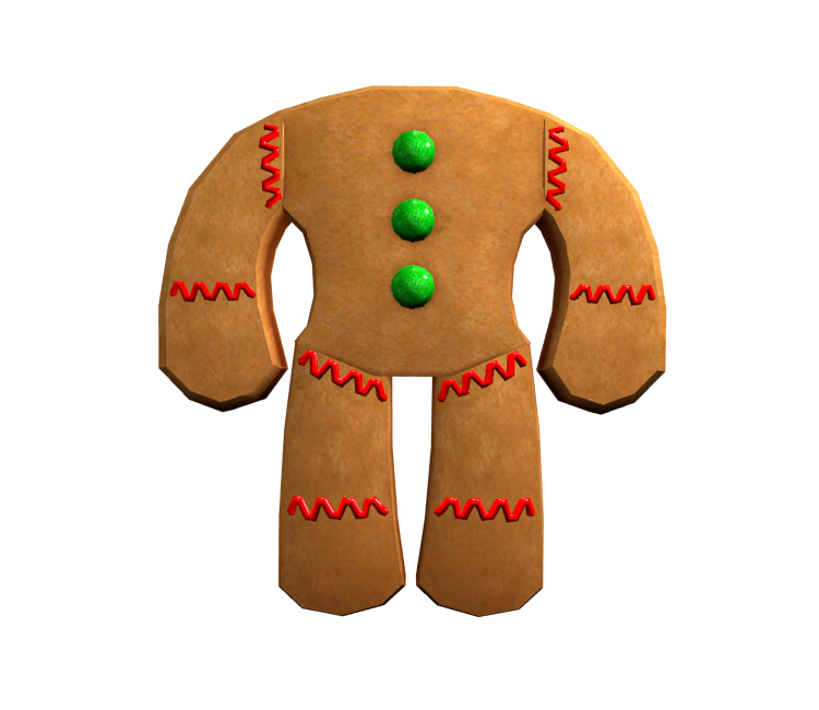 Pc Computer Roblox Gingerbread Man The Models Resource