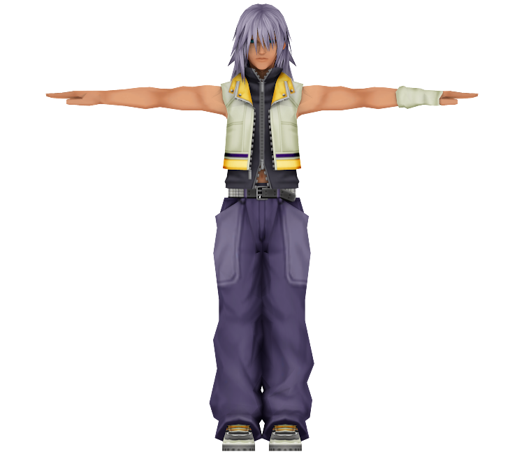 Kingdom hearts 2 riku