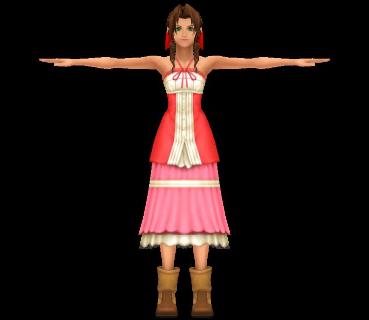 DDFF - Kingdom Hearts 2 Aerith by agl89 on DeviantArt