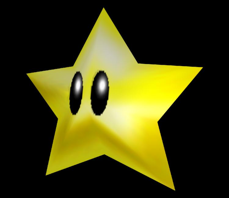 Nintendo 64 Super Mario 64 Power Star The Models Resource