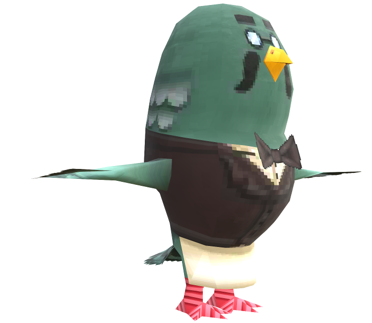 3DS - Animal Crossing: New Leaf - Brewster - The Models Resource