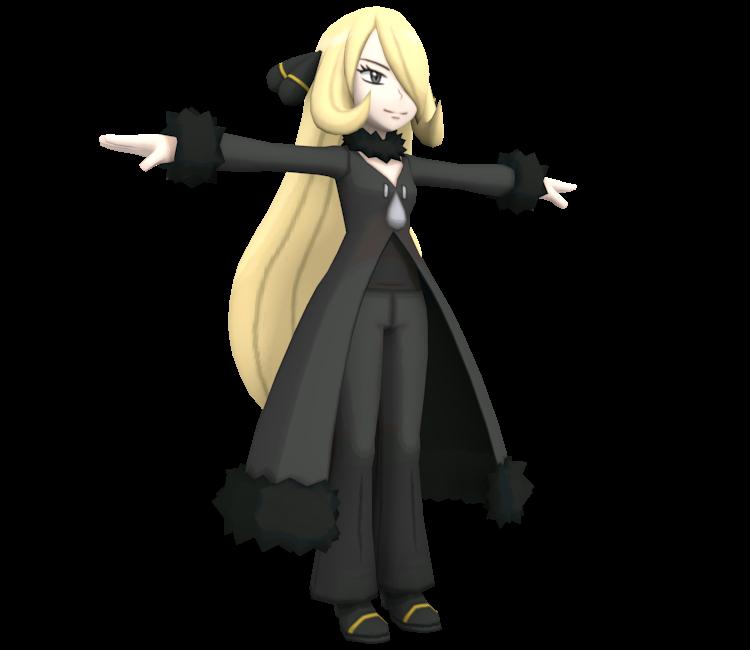 3DS - Pokémon Sun / Moon - Cynthia - The Models Resource